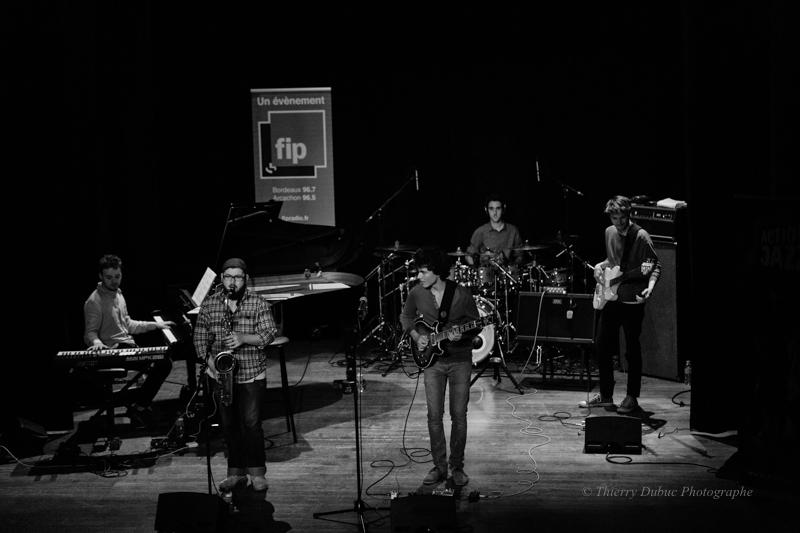 Jazz à Caudéran, jour #1 : Affinity quintet /Tom Ibarra group